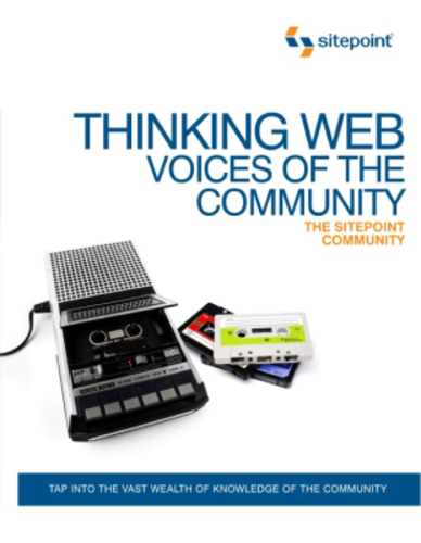 Thinking Web Voices Of The Community