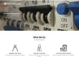 SitePoint WordPress Electrician Theme