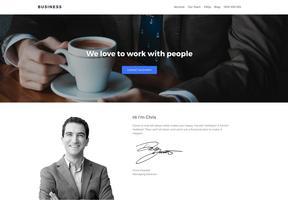 SitePoint WordPress Business Theme