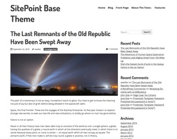 SitePoint Base Theme