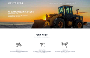 SitePoint WordPress Construction Theme